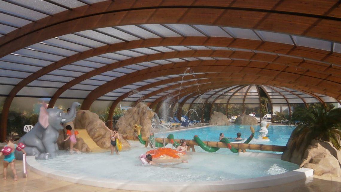 Camping ile de ré avec piscine chauffée couverte
